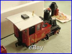 Lgb Christmas Steam Engine And Tender 25171 The Big Train G Scale Locomotive