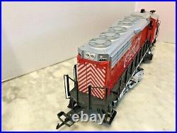Lgb G Scale Coca Cola Cab 1 Electric Locomotive -work