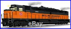 Lionel 148 O Scale Milwaukee Road DD35A #1535 Diesel Engine Locomotive #6-34650
