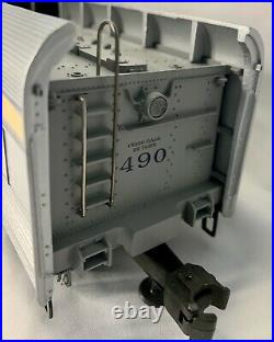 Lionel 6-18043 C & O Semi- Scale Streamline Hudson Locomotive & Tender TMCC