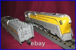 Lionel 6-18043 C&o Semi-scale Hudson Tmcc Locomotive & Tender