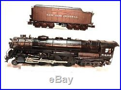 Lionel #6-28072 New York Central O Scale Hudson Locomotive With Original box