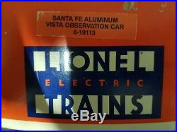 Lionel Diesel engines O scale Santa Fe Set with passenger cars