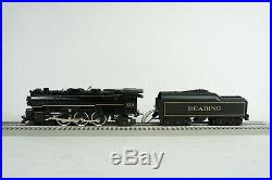 Lionel O Scale Reading 4-6-2 Steam Engine and Tender Item 6-18004 with Manual Box
