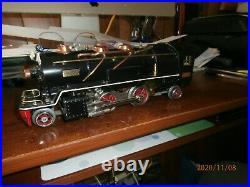 Lionel Pre-war O Scale Restored 2-4-2 Steam Locomotive And Tender. #260e