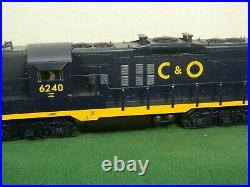 Lionel Scale #6-34670 Chesapeake & Ohio Gp-9 Emd Diesel Locomotive Legacy Obox