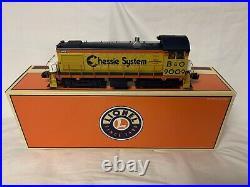 Lionel Tmcc Chessie Alco S-4 Switcher Diesel Engine 6-28548 New B&o O Scale