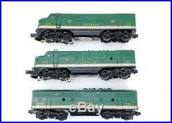 Lionel Trains Postwar 2356 Southern ABA Diesel Locomotive Engine Set O Scale