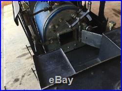Live Steam Engine Locomotive Train, 3/4 Scale, 3-1/2 Gage, Coal/wood Fired
