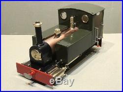 Live Steam Rare G Scale Locomotive Collin's Pixie