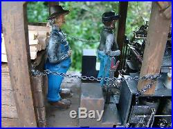 Logging Steam Locomotive Shay custom weathered handcrafted lot 6 G scale