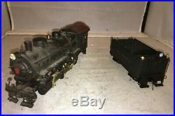 Long Island Railroad O Scale Brass 2-8-0 Steam Engine and Tender