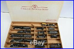 Lot of 21 HO Scale Steam Engine Locomotives Tenders Powered SP D&RGW & More