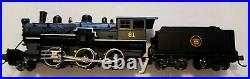MODEL POWER 87613 N SCALE Canadian National Steam 2-6-0 Mogul DC