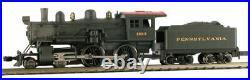 MODEL POWER 87631 N SCALE Pennsylvania Railroad Steam 4-4-0 American