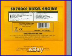MTH 148 O Scale SD70ACe Engine Non Powered Denver Rio Grande #20-20216-3
