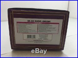MTH #20-20541-1 O Scale Pennsylvania #6009 3 Rail SD-35 Diesel Engine 3 Rail NIB