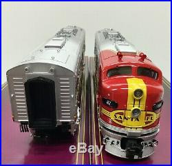 MTH 20-21256-1 Santa Fe E-8 2 Engine Diesel Set O-Scale 3-Rail withPS 3.0 NIB