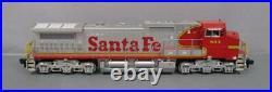 MTH 70-2005-1 Santa Fe G Scale Dash-8 Diesel Locomotive with PS2 (6-Wheel Trucks)