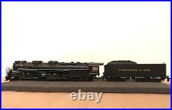 MTH HO SCALE 80-3250-1 2-6-6-6 ALLEGHENY ENGINE With PROTO-SOUND 3.0 C&O #1604