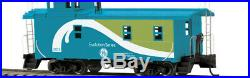MTH HO Scale 80-2350-1 GE Evolution ES44AC Locomotive Proto Sound 3 & Caboose