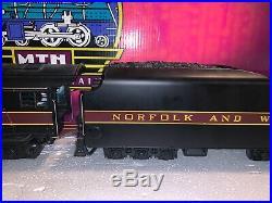MTH O Scale N&W Norfolk & Western J Steam Locomotive With Proto-Sound #611