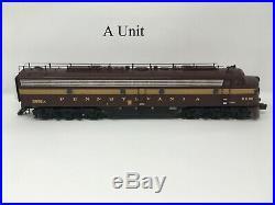 MTH O Scale Premier 20-2598-1 Pennsylvania E-8 ABA Diesel Set with Proto-Sound 2