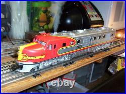 MTH O Scale Premier Santa Fe DL-109 Powered A Unit Diesel Engine PS1 20-2223-1