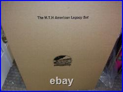 MTH O Scale Premier Tinplate 768W Passenger Set 4-6-4 J-1e Hudson 20-1002-1 PS2
