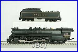 MTH O Scale Reading T-1 4-8-4 Steam Engine and Tender P3 Item 20-3543-1 NEW DMG