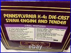 MTH PREMIER PENNSYLVANIA K-4 STEAM ENGINE With PROTOSOUND MT-3018LP! O SCALE PRR