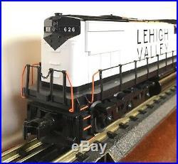 MTH Rail King Lehigh Valley Alco C-628 Locomotive, Snow Bird O scale