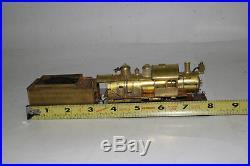 M. B. Austin Ho Scale Brass L. I. R. R. 2-8-0 Steam Locomotive Engine & Tender