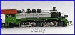Mantua 325-100 Weyerhaeuser Timber 2-6-6-2 Logger Steam Locomotive 116 HO Scale