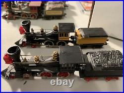Mantua HO Scale 3960 General Steam Locomotive w-Tender Lot of 4