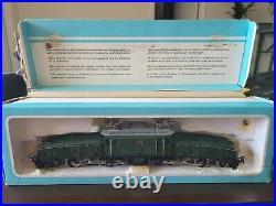 Marklin Ho Scale 3015 Swiss Heavy Electric Goods Locomotive GG 1 Crocodile NR
