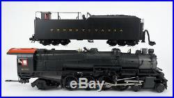 Mth O Scale 20-3084-1 Pennsylvania 4-8-2 M-1b Steam Engine & Tender #6755 P-2