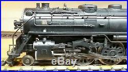 Mth Railking Gauge 1 G-scale Santa Fe 4-6-4 Hudson Steam Engine /ps 2