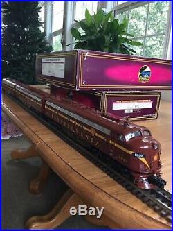 Mth premier o scale E-8 ABA diesel locomotive
