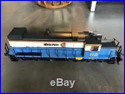 NEAR MINT IN ORIGINAL BOX LGB 2055 White Pass Diesel Locomotive G-Scale
