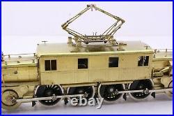 NJ Custom Brass HO Scale Pennsylvania Railroad L-5 Electric Locomotive Very Nice