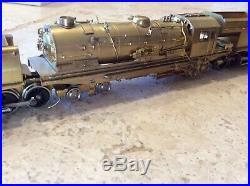 NSWGR Breyer Garrett AD60 4-8-4+4-8-4 HO Scale Brass Locomotive