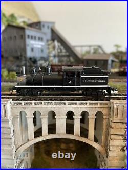 N Scale Atlas 41632 2 Truck Shay Lima Locomotive Works Steam