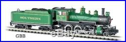 N Scale Bachmann SOUTHERN BALDWIN 4-6-0 DCC EQUIPPED Locomotive New 51458