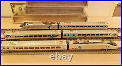 N Scale Bachmann Spectrum DCC Amtrak Acela Express Six Car Set