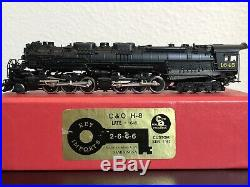 N Scale Brass Key Imports CS#117 Chesapeake & Ohio H-8 Allegheny 2-6-6-2 #1645