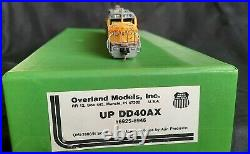 N Scale Brass Overland Models EMD DD40AX UP