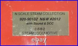 N Scale Custom Great Northern HERITAGE STEAM COLLECTION 2-8-8-2 DCC SOUND GN