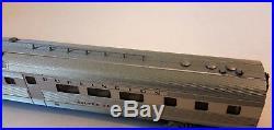 N Scale KATO'EMD E5A & Silver Streak Zephyr 6 Unit Set' WithDCC Item #106-090-DCC