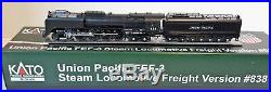 N Scale KATO FEF-3 4-8-4'Union Pacific' Road #838 DCC Ready Item #126-0402